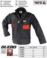 Курточка рабочая DUERO размер M 65%/35% полиэстер/хлопок YT-8021