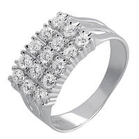 Золотое кольцо с бриллиантами Margo 000011408 16 размера