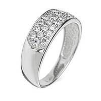 Золотое кольцо с бриллиантами Джессика 000011718 17 размера
