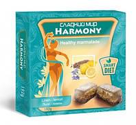 "Мармелад ""HARMONY"" лен-лимон от ТМ ""Сладкий мир"""