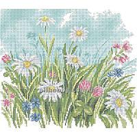 Схема для вышивания бисером Полевые цветы БИС3-42 (А3) Атлас