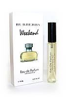 Женский мини-парфюм с феромонами Burberry Weekend for Women (Барбери Викенд фо Вумен), 10 мл