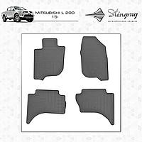 Автомобильные коврики Stingray Mitsubishi L200 2015-