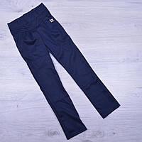 """Брюки-лосины школьные """"Леди"""" для девочек. 122-158 см. Синие. Школьная форма оптом"""