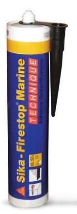 Огнестойкий жесткий силикатный герметик  Sika Firestop Marine / 310мл