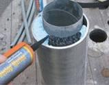 Огнестойкий жесткий силикатный герметик  Sika Firestop Marine / 310мл, фото 2