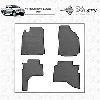 Автомобильные коврики Stingray Mitsubishi L200 1996-