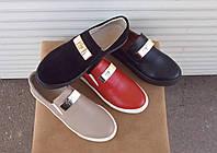 Стильны кожаные туфли
