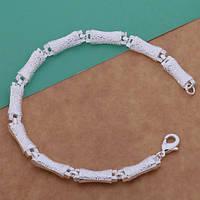 Изящный браслет на руку Мода стиль 200 мм-серебро 925 пр