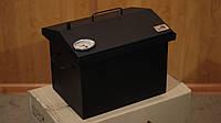 Коптильня Крышка Домиком 400х300х310 с термометром окрашенная