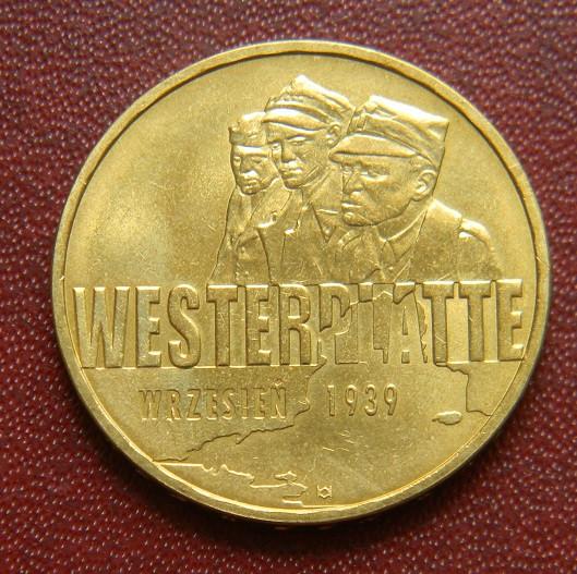 Польша 2 злотых 2009 г., 'Оборона Вестерплатте'