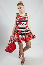 Платье женское летнее яркое цветное короткое Rinacsimento, фото 2