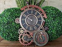 Коллекционные настенные часы Veronese в стиле Стимпанк WU77046A4