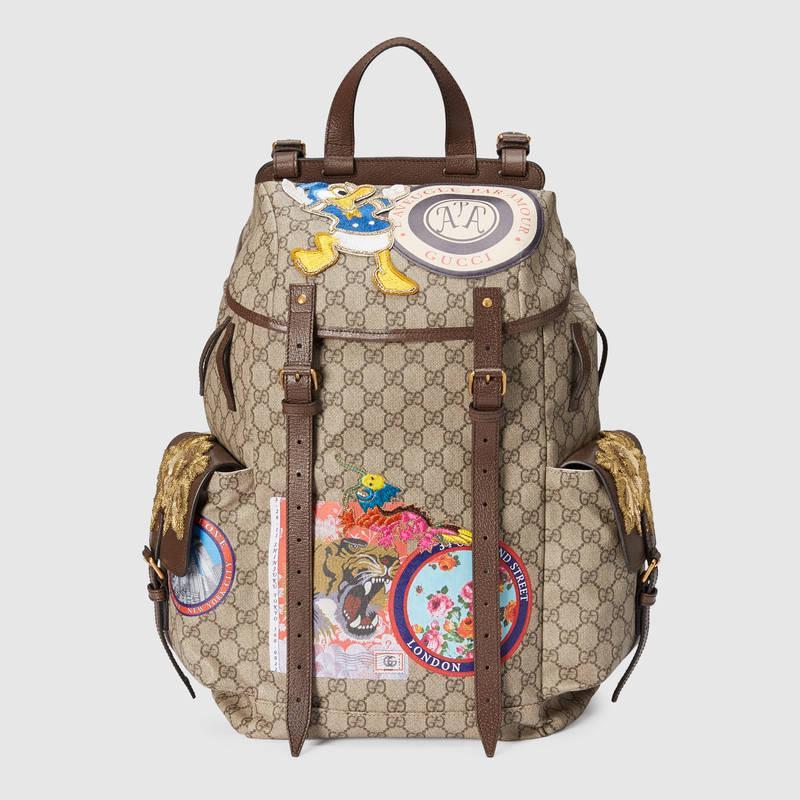 Мужской рюкзак Gucci с аппликациями  продажа 7eca648ff8c0a