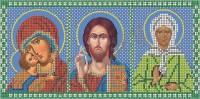 Схема для вышивки бисером Иконостас Молитва водителя