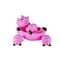 Игрушки для ванны Бегемотики Grow-Up 137SM