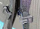 Батут SkyJump 374 см із захисною сіткою і сходами спортивний ігровий, фото 4