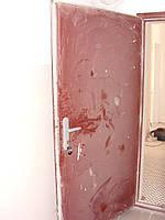 Реставрация двери после ремонта