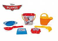 Набор для песка Самолетики Disney 7 элементов IML Wader 77342