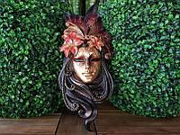 Коллекционная настенная Венецианская маска Veronese Лилия 74134VC