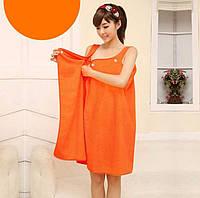 Махровое полотенце в сауну  женское