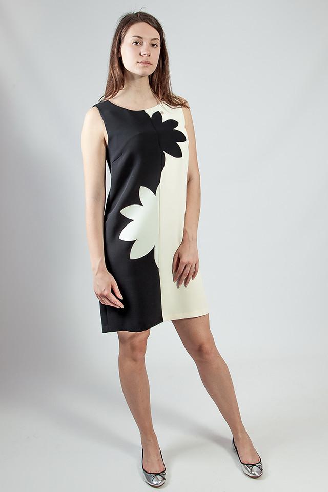 86a4880a0f62 Платье женское деловое черное- белое летнее Rinascimento - Интернет  -магазин женской и мужской одежды