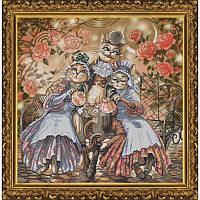 Набор частичная вышивка крестом Дружное семейство