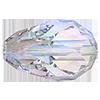 Хрустальные бусины капли Preciosa (Чехия)  9х6 мм, Crystal AB
