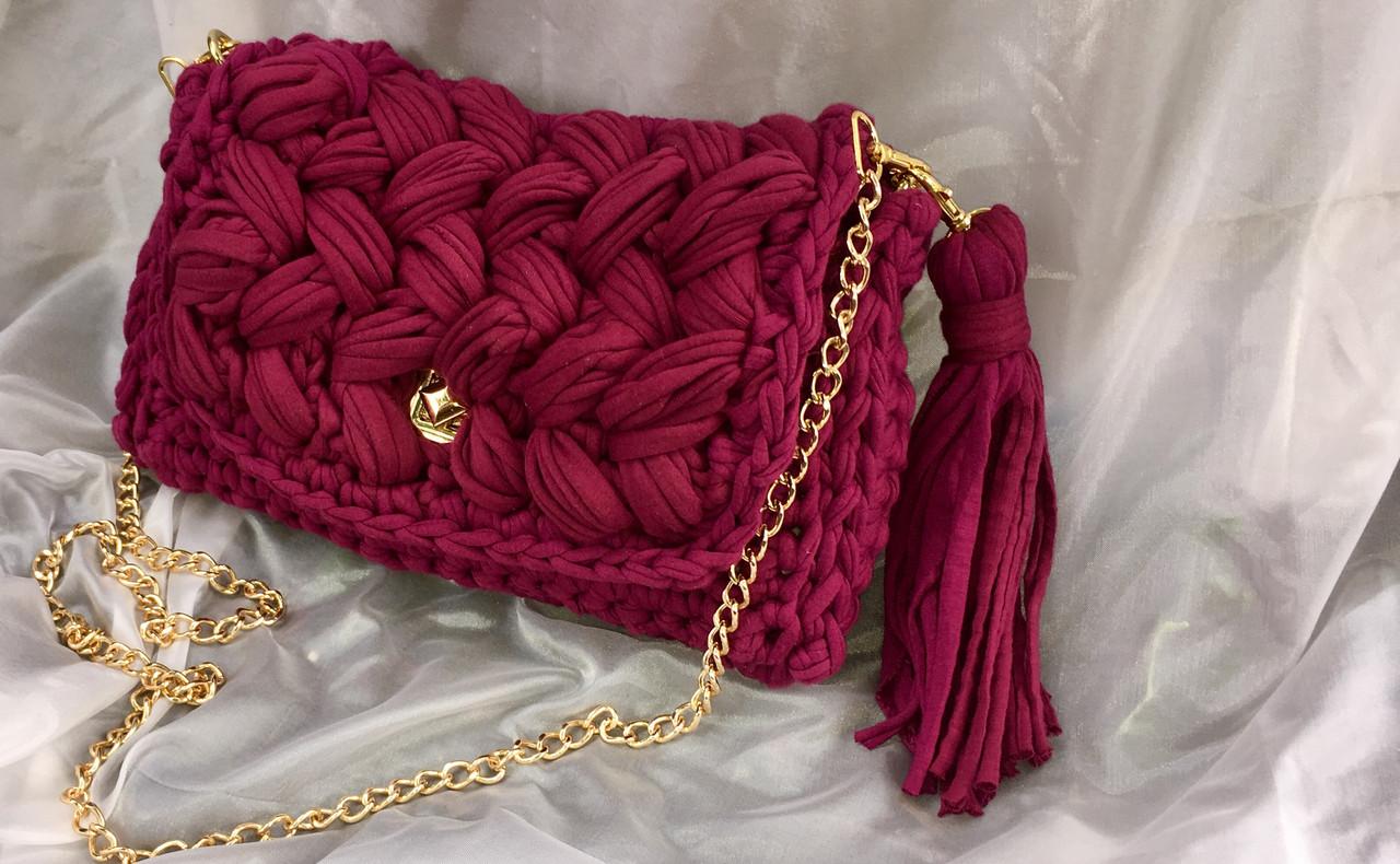вязаная сумка зефирка продажа цена в донецкой области женские