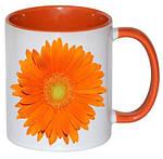 Чашка с Вашим дизайном MUG2T-I, цветная внутри и ручка, фото 5