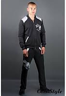 Мужской спортивный костюм Митчел черный