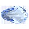 Хрустальные бусины капли Preciosa (Чехия)  10.5х7 мм, Crystal Medium Blue