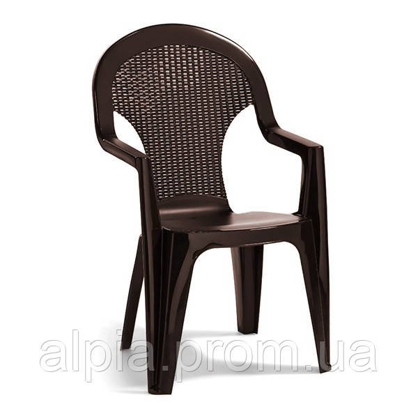 Стул Allibert Santana Chair коричневый
