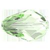 Хрустальные бусины капли Preciosa (Чехия)  12х8 мм, Crystal Light Green