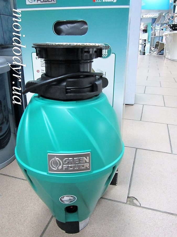 Измельчитель пищевых отходов Elleci Green Power 500 top (Италия)