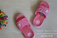 Детская пляжная обувь детские шлепки для девочки тм Giolan р.30,31,32,33,34,35