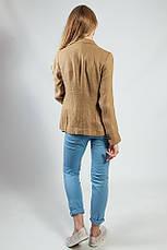 Пиджак женский удлиненный стильный приталенный длинный рукав весна-лето Massimo Dutti, фото 3