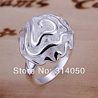"Оригинальное кольцо серебро 925 проба  ""Серебряная роза"""