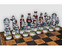 Шахматные фигуры Средневековый Рыцарский Турнир большие Nigri Scacchi