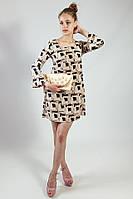 Платье женское летнее короткое цветное  Rinascimento