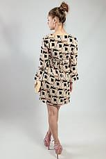 Платье женское летнее короткое цветное  Rinascimento, фото 3