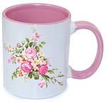 Чашка с Вашим дизайном MUG2T-I, цветная внутри и ручка, фото 6