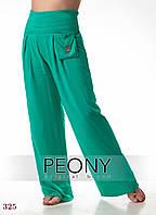 Женские брюки Дакар (52 размер, зеленый) ТМ «PEONY»