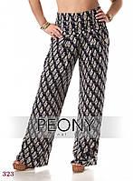 Женские брюки Дакар цветные (56 размер, зебра) ТМ «PEONY»