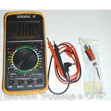 Мультиметр DT 9208 цифровой, фото 2