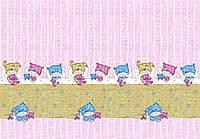 Ткань Сонные детки розовая 150 см хлопок