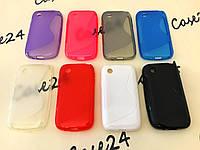 Силиконовый чехол Duotone для LG L40 D170 (8 цветов)