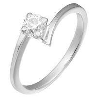 Золотое кольцо с бриллиантом Возлюбленная 000035636