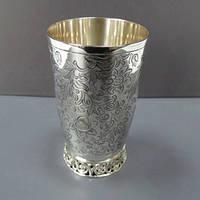 Серебряный стакан для воды арт. 0700701000