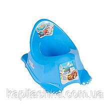 Горщик Tega Антиковзаючий CS-001 CARS синій